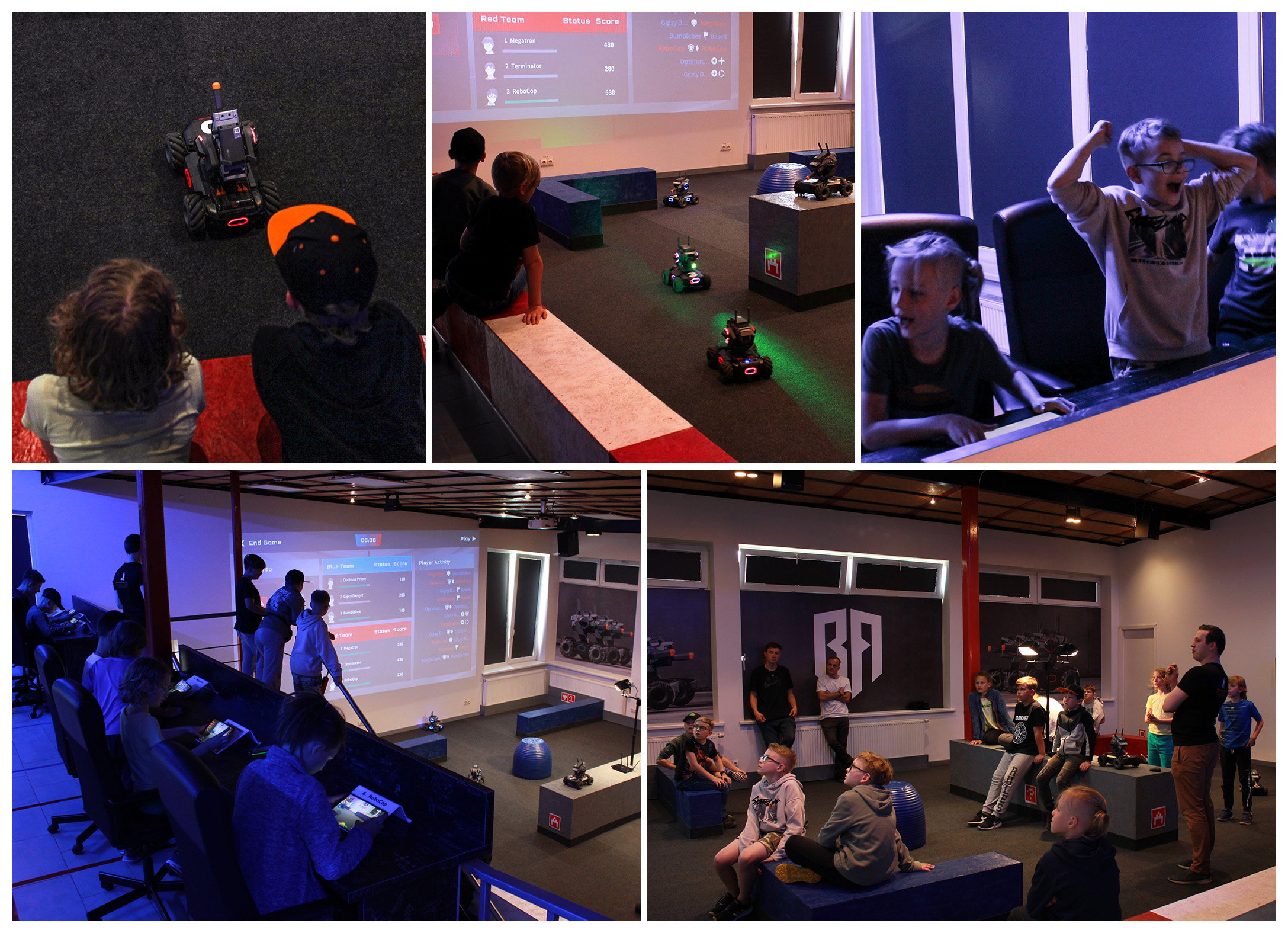 Robotu kovos - nauja pramoga
